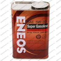"""Масло моторное синтетическое в Лансер 9 ENEOS """"SUPER GASOLINE SM 5W-30"""", 1 л."""