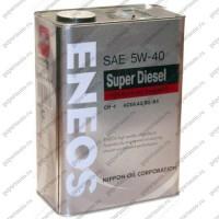 """Масло моторное синтетическое Паджеро Спорт 3.2l ENEOS """"Premium Disel Cl-4 5W-40"""", 4 л."""