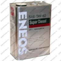 "Масло моторное синтетическое Л200 ENEOS ""Premium Disel Cl-4 5W-40"", 4 л."
